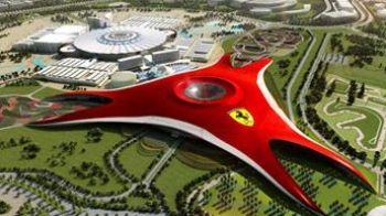 VIDEO FENOMENAL: Dubai in faliment? Vezi cum arata cel mai mare parc tematic acoperit din lume, FERRARI WORLD!