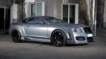 Uite un Bentley urat cu spume! Tu ce crezi?