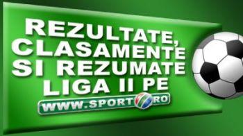 Dinamo II 1-3 FC Snagov! Vezi rezultate din Liga 2!