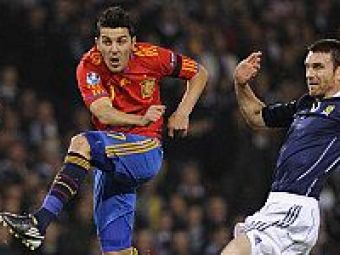 VIDEO David Villa l-a egalat pe Raul pe primul loc in topul celor mai buni marcatori din istoria SPANIEI!