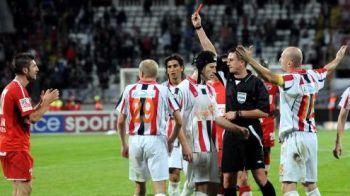 Cartonasul rosu primit de Andrei Cristea cu Otelul, ANULAT! Poate sa joace cu Steaua! Comenteaza decizia LPF!