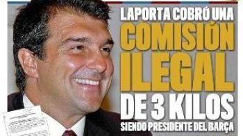 Comisioane ilegale la Barcelona: cum a castigat Laporta 3 milioane de euro!