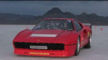 VIDEO Bugatti e istorie! Un Ferrari din anii '80 e cea mai rapida masina din lume: A atins 440 KM/H!