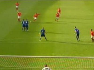VIDEO / Un englez a reinventat torpila lui Robero Carlos! Vezi traiectoria incredibila a mingii! Golul sezonului in Anglia