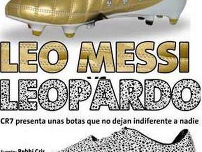 Leo Messi sau Leopardul Ronaldo: cine are cele mai tari ghete?