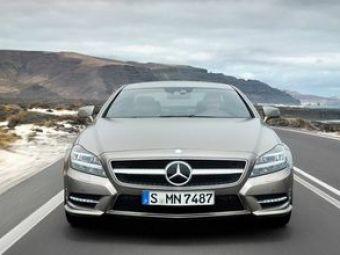 Primul test cu ultimul Mercedes: noul CLS!Azi,la ProMotor,de la 12:30