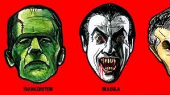FOTO! Cele mai vandute masti de Halloween? Dracula si MOURINHO :))