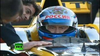 Video: Putin a inceput antrenamentele pentru noul sezon de Formula 1!