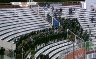 Fanii Stelei, dusi la sectie: 380 de suporteri, INTERZISI pe stadioanele din Romania!