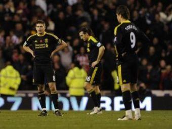 Liverpool, prietena echipelor in suferinta din Anglia! Stoke 2-0 Liverpool! Fuller a reusit cel mai 'balbait' gol al etapei! VIDEO