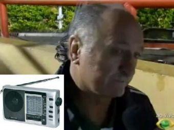 Fanii furiosi l-au lovit pe Scolari in cap cu un RADIO! Cum le-a raspuns brazilianul: