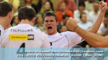ACUM LIVE VIDEO:VfB Friedrichshafen - Remat Zalau, exclusiv pe www.sport.ro!
