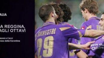 VIDEO / Fiorentina s-a calificat in optimile Cupei! Vezi cand revine MUTU:
