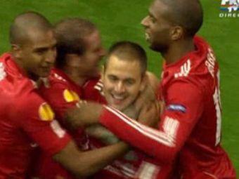 VIDEO / Joe Cole revine cu Steaua! Vezi cum a inscris la meciul tur in secunda 26!