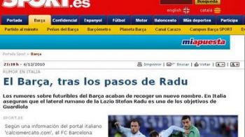 Un roman EXTRATERESTRU la Barcelona! Presa din Catalunia confirma ca Barca il vrea pe Radu Stefan!