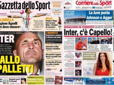 Benitez, ca si dat afara de la Inter! Capello si Spalletti, favoriti sa-l antreneze pe Chivu!