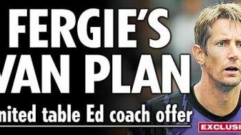 Ferguson i-a facut propunerea anului lui Van der Sar: vrea sa-l faca ANTRENOR! Vezi prin ce DRAMA a trecut!