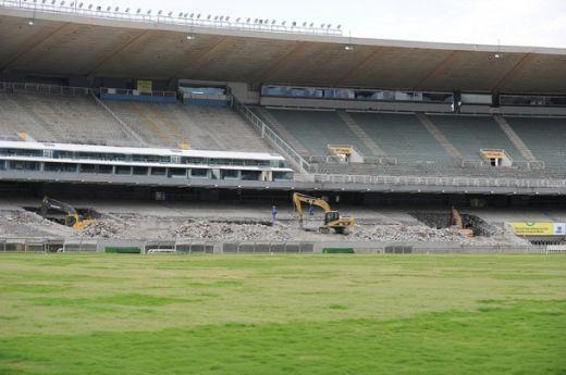 FOTO! Cel mai tare cadou de Craciun: ia o bucata din Maracana! Vezi cat de TARE va arata arena in 2014