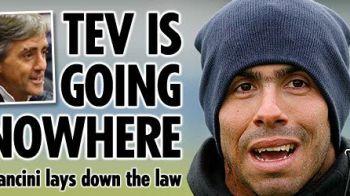 City nu renunta la Tevez! Vezi cum vrea Mancini sa il convinga sa ramana!