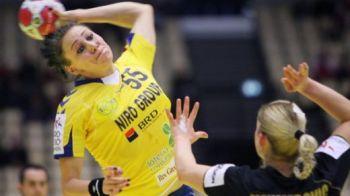 Romania si-a menajat titularele pentru semifinala cu Suedia! Romania 20-35 Rusia! TRANSMITE un mesaj fetelor: