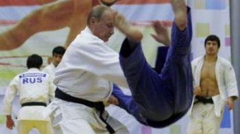 PUTIN a dat de pamant cu campioni rusi la judo! FOTO