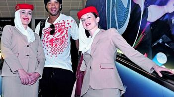 FOTO Poti sa GHICESTI? Care este singura legatura dintre Ronaldinho si Andrei Cristea :)