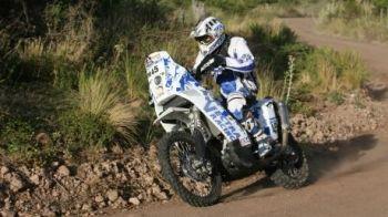 Mani Gyenes vinde motocicleta cu care a castigat la Dakar! Vezi cat cere pe ea!