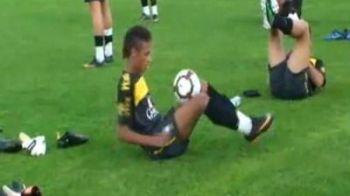 Ce stie sa faca cu mingea PERLA Braziliei: Vezi un super VIDEO cu Neymar!