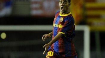 EL este noul Messi: joaca la Barcelona, il cheama la fel ca pe marele Pele si are doar 17 ani! VIDEO