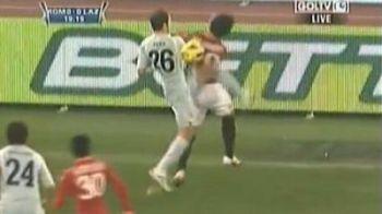 VIDEO / Stefan Radu este din aceeasi liga cu De Jong! A lovit BRUTAL in fata un jucator de la Roma: