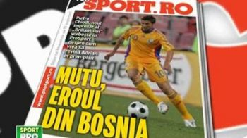 Sambata in ProSport: Cum poate ajunge Mutu eroul Romaniei in Bosnia!