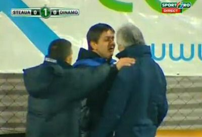 VIDEO / Lacatus este FIARA pe banca Stelei! Era sa se bata cu antrenorul lui Dinamo Zagreb, vezi de ce: