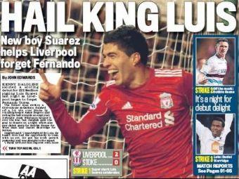 Cine are nevoie de Torres? Luis Suarez a debutat cu GOL pe Anfield! VIDEO