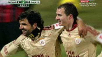 VIDEO Gaziantep 3-2 Galatasaray, in Cupa! Vezi ce gol FABULOS a dat Stancu la primul meci ca titular!