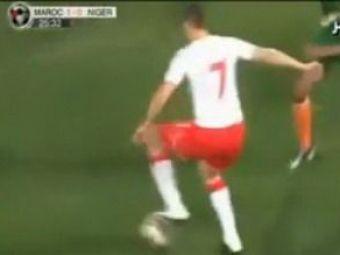 VIDEO / FAZA ZILEI! Un dribling senzational reusit de un necunoscut din Maroc!