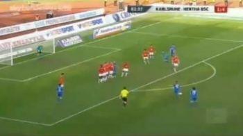 VIDEO! Super DUBLA a lui Andrei Cristea in Germania! Vezi ce gol FABULOS din lovitura libera a marcat!