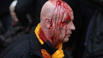 FOTO / Fanii lui WBA au fost atacati de rivali pe propriul stadion: