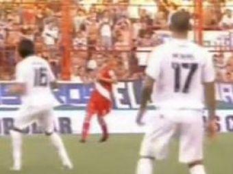 Ce combinatie! Un atacant cu nume de stelist a reusit schema lui Cristiano Ronaldo pe stadionul Diego Armando Maradona! VIDEO