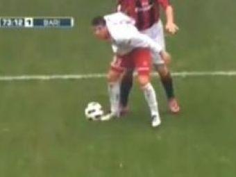 """Reactia lui Rossi dupa ce a fost lovit cu pumnul de Ibrahimovic: """"Nu m-a durut, Chivu mi-a dat mai tare!"""" :)"""