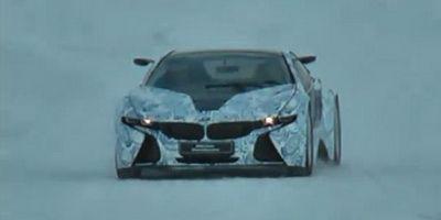 i8 exista! Primele clipuri cu BMW-ul mileniului!