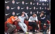 VIDEO / Cum au REACTIONAT jucatorii lui Sahtior cand au vazut ca au picat cu Barcelona: