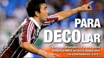 VIDEO! Deco a dat primul gol de la revenirea in Brazilia! Comentatorul a innebunit la SUPER lobul lui Deco!