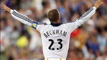 Beckham este iar capitan! Vezi cum a ajuns sa poarte banderola la LA Galaxy