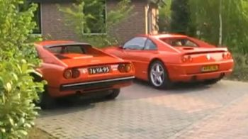 VIDEO FABULOS! Asta e singurul oras din lume in care TOATA lumea are cel putin UN Ferrari!