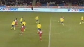 VIDEO: Moldova ne-a luat-o cu mult inainte! Vezi un GOLAZO marcat in fata Suediei