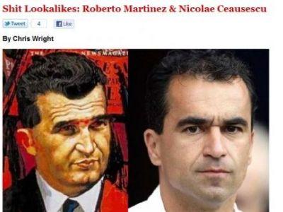 FOTO INCREDIBIL! Presa din Anglia l-a gasit pe Ceausescu in PREMIER LEAGUE! Vezi unde antreneaza :))