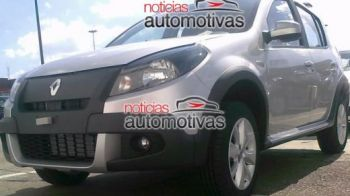 SUPER FOTO! Asa vor arata Dacia Sandero si Stepway in 2012!