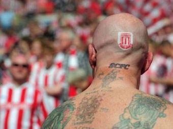 EL este cel mai nebun fan al lui Stoke! FOTO