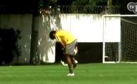 Neymar a inventat o SCHEMA noua: pasa cu coapsa care ar scoate din minti adversarul!!!