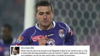 Zicu ii raspunde dur lui Iancu pe Facebook dupa ce l-a facut GRAS! Vezi reactia golgeterului Timisoarei: